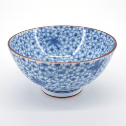 japanese blue cherry blossoms flowers blue maple bowl KOZAKURA KÔYÔ