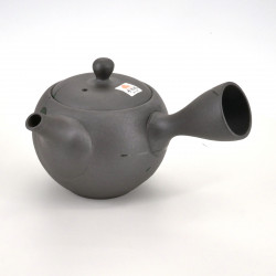 japanese grey brush patterns teapot 30cl ISSHIN