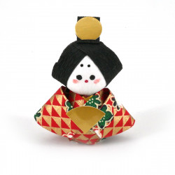 japanese okiagari doll, OHINASAMA, wife