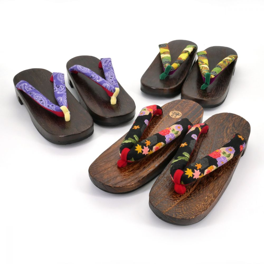 traditional Japanese footwear GETA for women