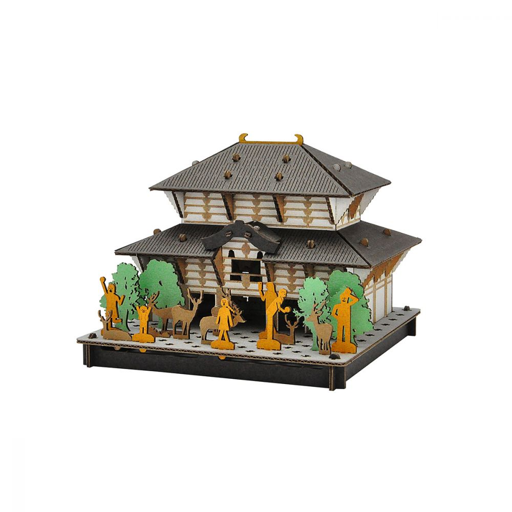 mini maquette en carton, TODAI-JI, Grand Buddha de Nara