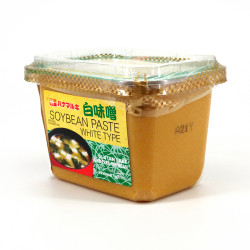 Gluten-free and GMO-free white Miso paste, HANAMARUKI CUP SHIRO MISO