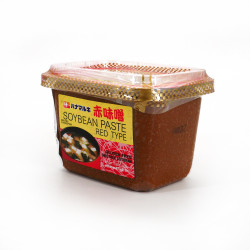 Gluten-free and GMO-free red Miso paste, HANAMARUKI CUP AKA MISO