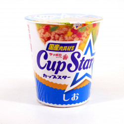 Cup of instant noodles with salt taste, SAPPORO ICHIBAN CUP STAR SHIO