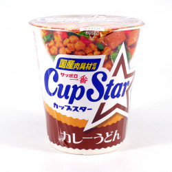 Cup of instant noodles Curry flavor, SAPPORO ICHIBAN CUP STAR CURRY