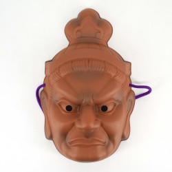Traditional Japanese mask, Daikokuten, The Seven Deities of Happiness - SHICHI FUKUJIN