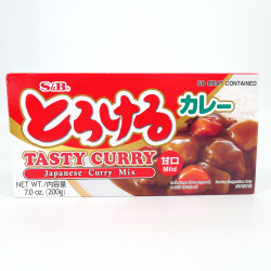 Mild Japanese Curry, S&B TOROKERU