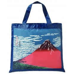Eco-friendly polyester bag, ECO BAG MT FUJI WALK, fuji