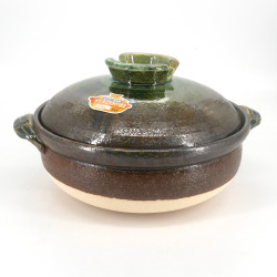 Japanese clay pot - DONABE MIDORI, made in Japan