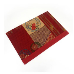Fabric placemat - SAMAZAMANA - red