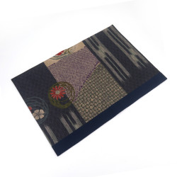 Fabric placemat - SAMAZAMANA - blue