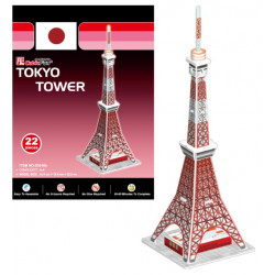 Small 3D Puzzle, TOKYO TOWER