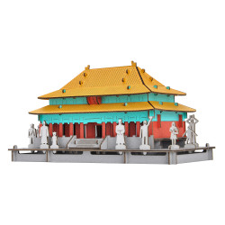 Mini cardboard model, FORBIDDEN CITY, Forbidden City of China, Made in Japan