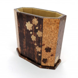 Cherry bark pencil holder, SHUNJYU