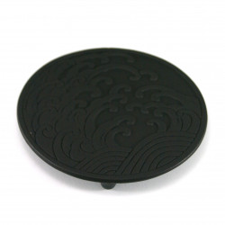cast iron trivet, NAMI, wave