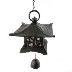 Japan cast iron wind bell, TAKEUME, House