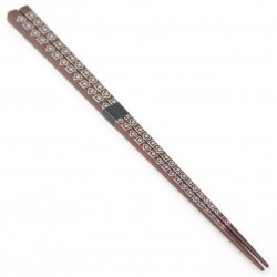 brown japanese chopsticks, large PETITE-BOX
