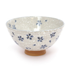 Japanese rice bowl MYA36614 BLUE