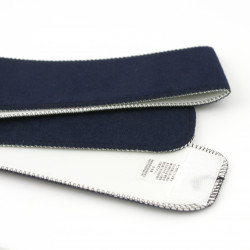 Japanese blue belt with inner lining, OBI-SASH
