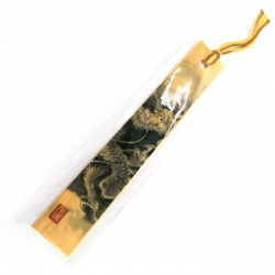 Japanese wooden bookmark - BUKKUMAKU RYU