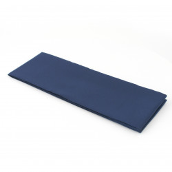 Japanese traditional blue obi belt in polyester, OBI