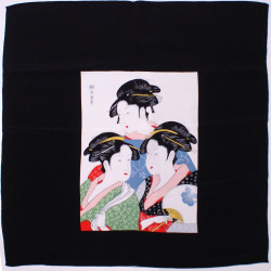 japanese furoshiki geishas - 3 ladies