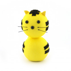 japanese okiagari doll, TORA, Yellow tiger