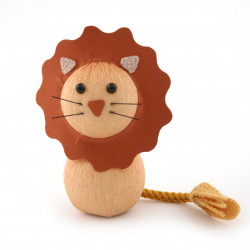 japanese okiagari doll, RAION, Lion