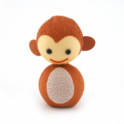 japanese okiagari doll, SARU, monkey