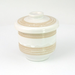 beige tea cup with lid ceramic 167 403 168
