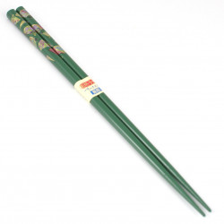 pair of japanese chopsticks, MAIOHGI, green