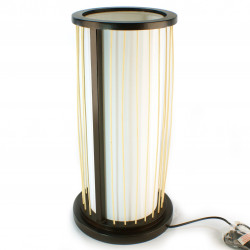 Japanese black table lamp MIYA