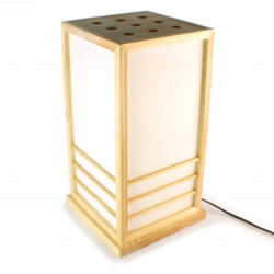 Great Japanese table lamp NIKKO natural color