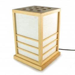 Japanese table lamp NIKKO natural color