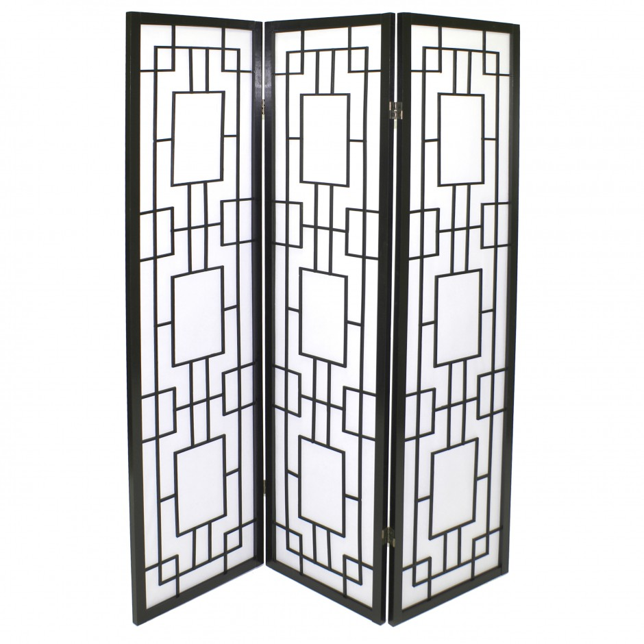 black japanese wooden screens design moucharabieh 3P