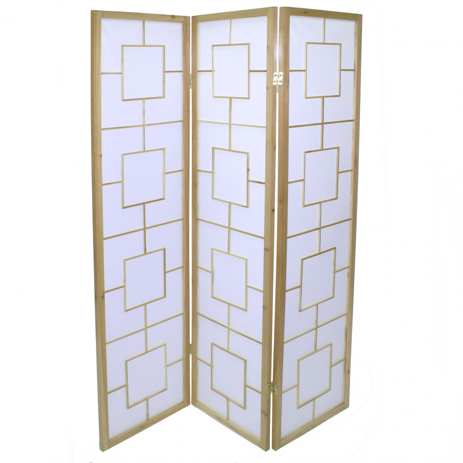 japanese wooden screens natural colours design SQUARE