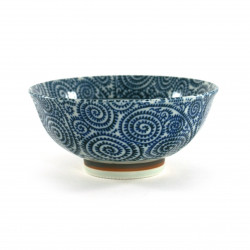 Japanese blue rice bowl CHG27