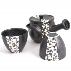 Japanese ceramic tea service 4152776 1 teapot and 2 cups
