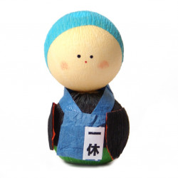 japanese okiagari doll, OBAASAN, worker