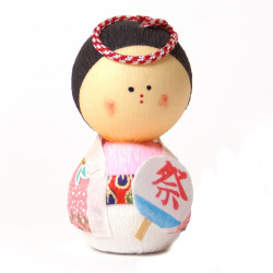 japanese okiagari doll, OMATSURI, wife