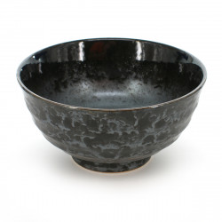 rice bowl black KURO SHINJU