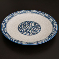 Round plates from Japan