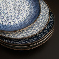 Plate sets from Japan
