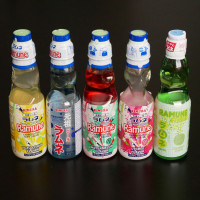 Sodas and drinks from Japan