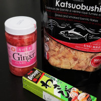 Our condiments from Japan