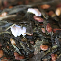 Selection of green teas from Japan