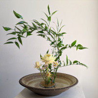 """Meaning """"the art of bringing flowers to life"""", the traditional Japanese floral art, called ikebana, is a decoration practice, bu"""